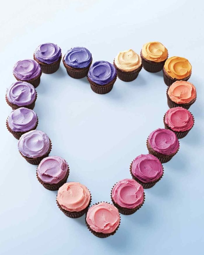 Cupcakes Topping Rezept Törtchen backen Nachtischideen