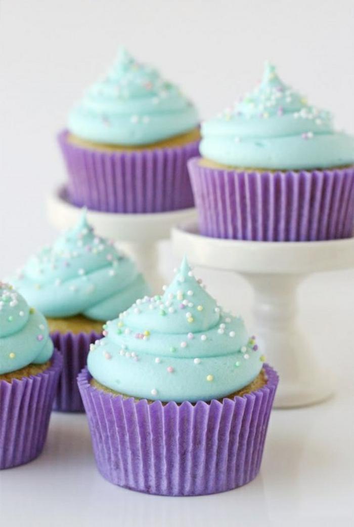 Cupcakes Topping Rezept Törtchen backen Rezeptideen