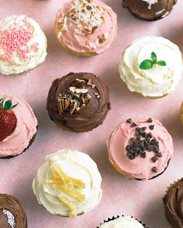 Cupcakes Topping Rezept kleine Törtchen backen