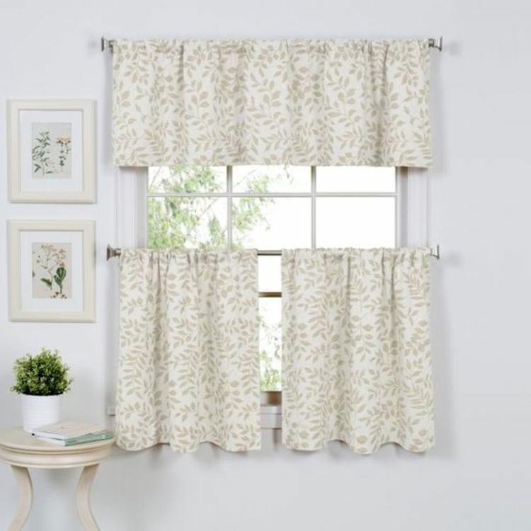 Fensterdeko Ideen Gardinenideen Küche Zimmerpflanzen