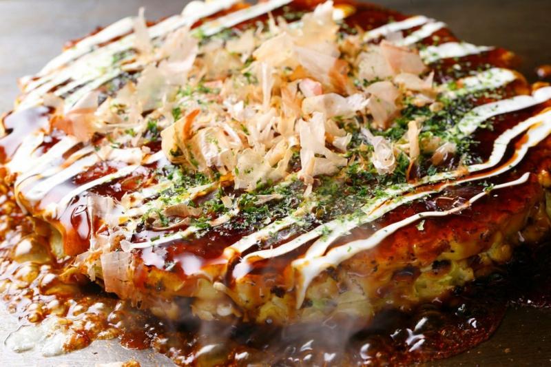 Japan Okonomiyaki Eierkuchen Rezepte für Pfannkuchen weltweit
