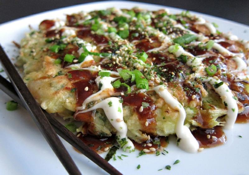 Japan Okonomiyaki Rezepte für Pfannkuchen weltweit
