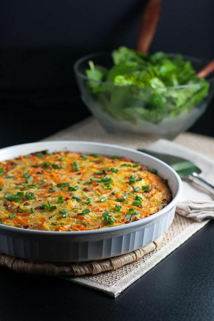 Kohlrabi Quiche Rezept Gemüse Gerichte Quiche vegetarisch
