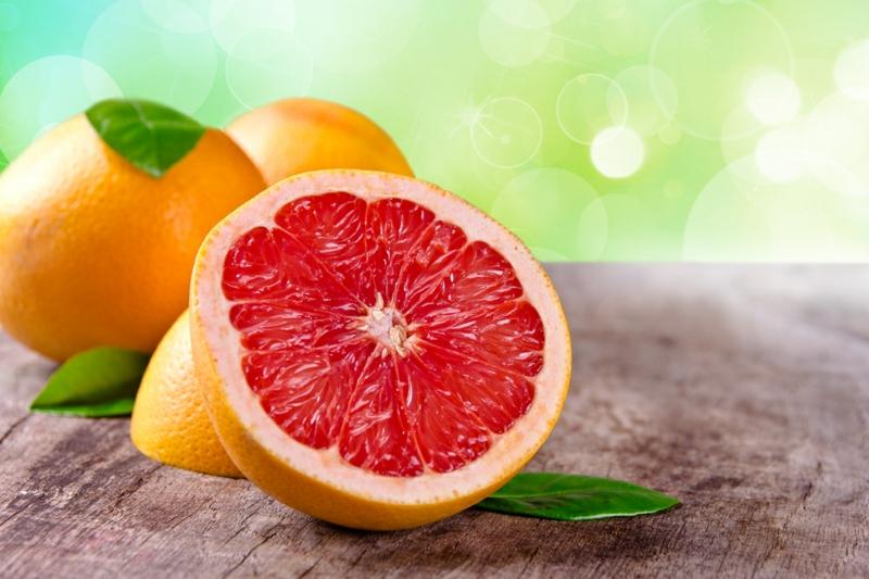 Lebensmittel die fett verbrennen Grapefruit gesunde Ernährung