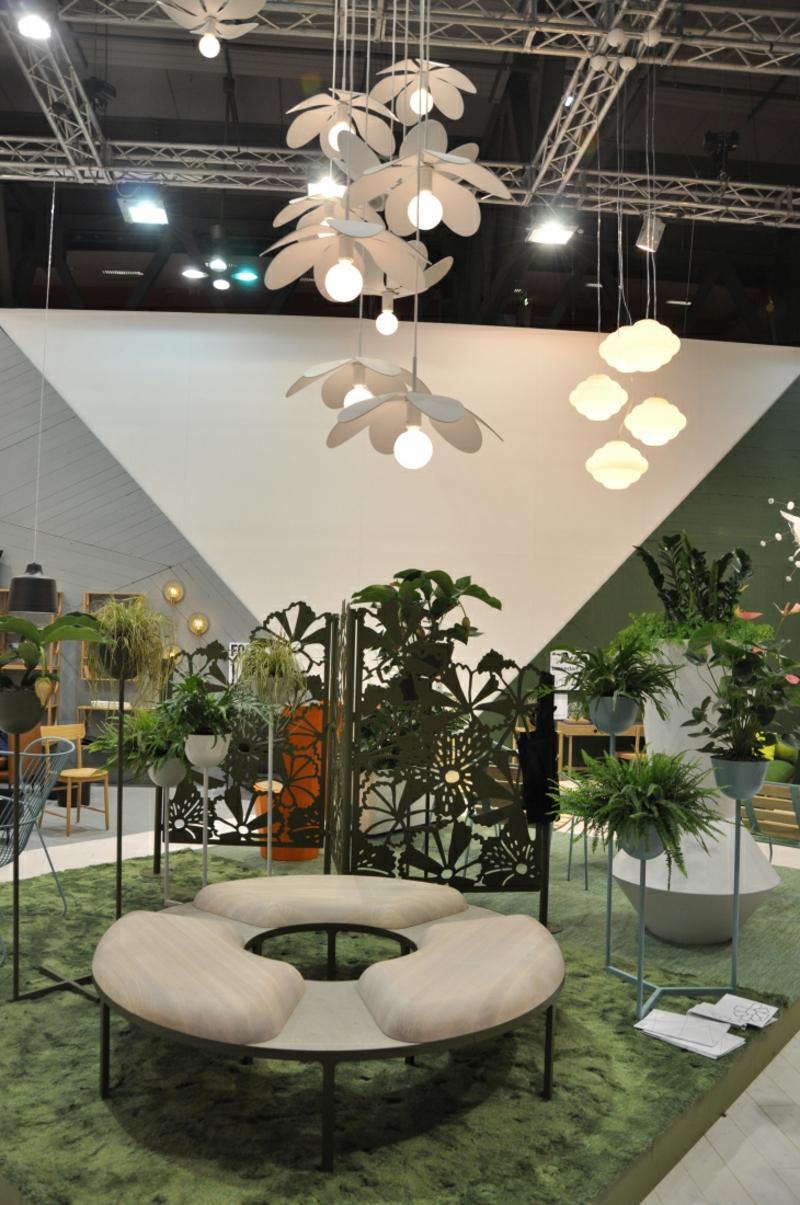 Messe Mailand Salone del Mobile 2016 nachhaltige Trends Zimmerpflanzen