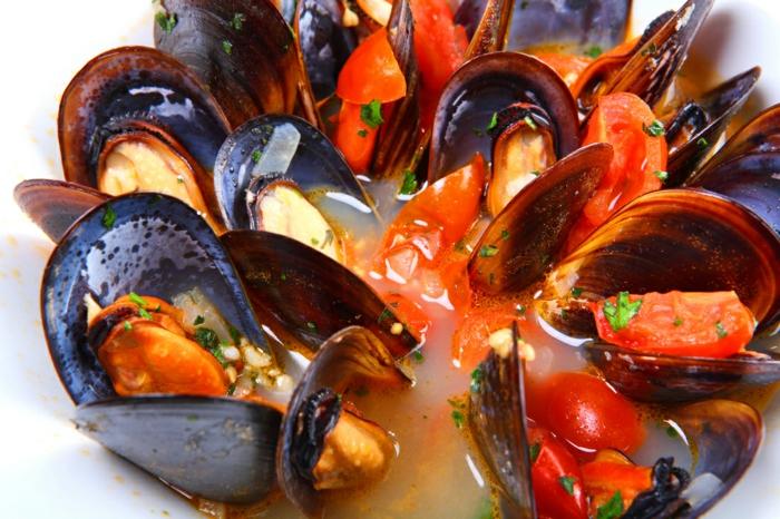 Muscheln kochen nah italienisch schwarz mercado rezepte