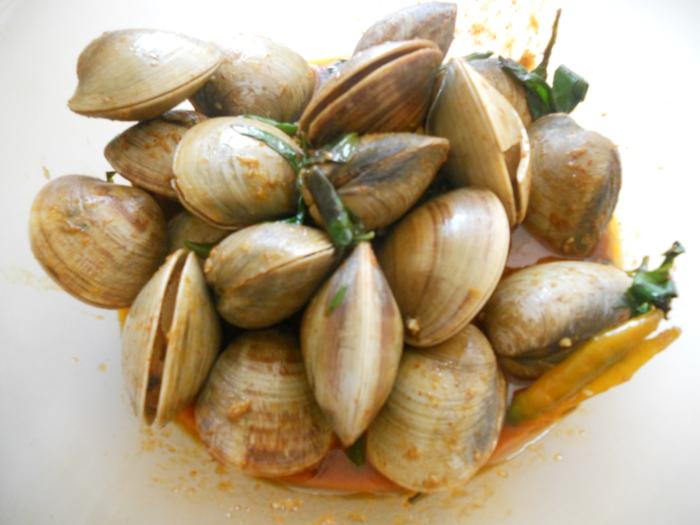 Muscheln kochen nah vorspeise besteck set lecker suppe gewürzt