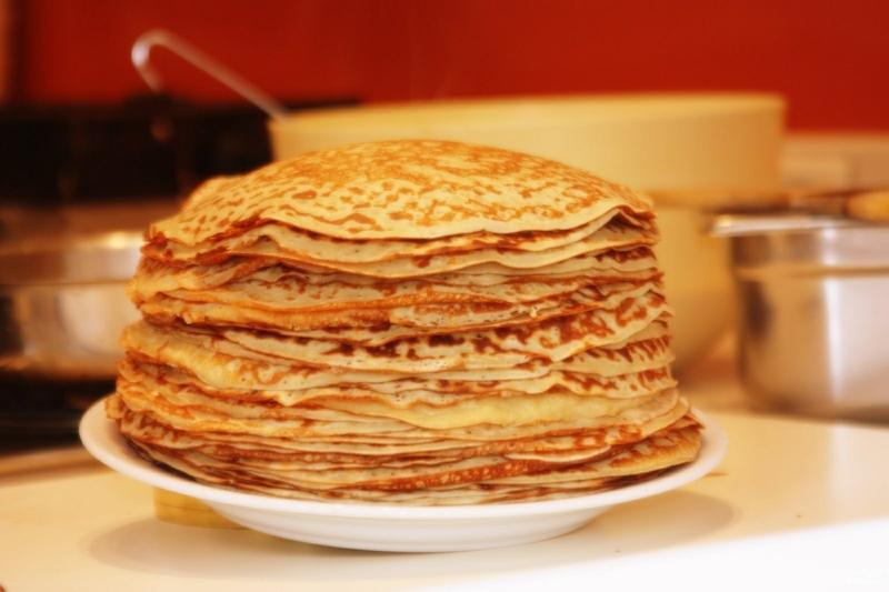 Osteuropa Blini Rezepte für Pfannkuchen weltweit