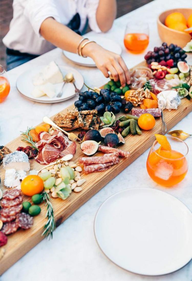 Partyrezepte Fingerfood kalt Vorspeisen Buffet