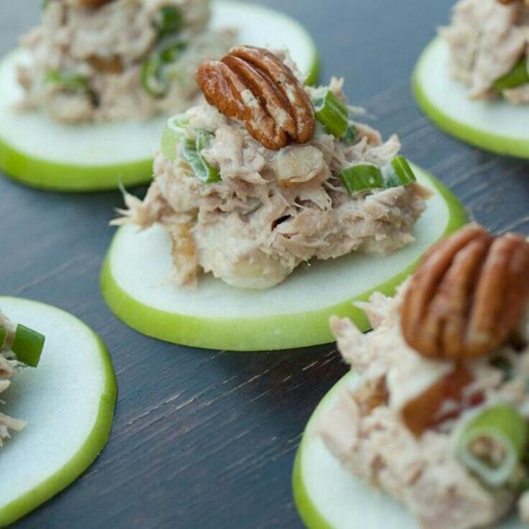 Partyrezepte Fingerfood kalt Vorspeisen Tunfisch