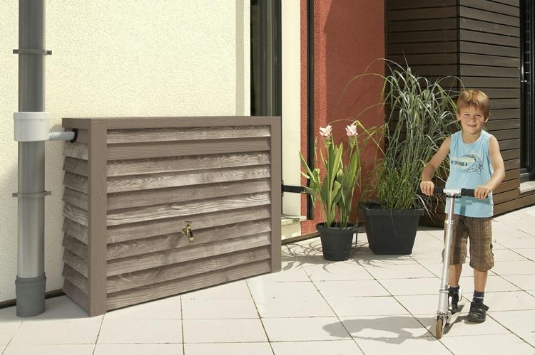 regentonnen sorgen f r eine umweltfreundliche bew sserung. Black Bedroom Furniture Sets. Home Design Ideas