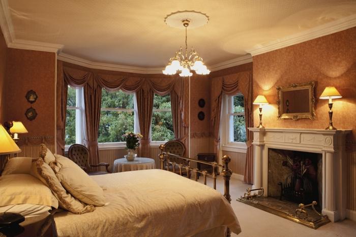 Schlafzimmer Ideen im viktorianischen Stil Einrichtungsstile