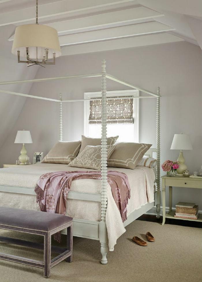 Schlafzimmer Ideen im viktorianischen Stil Himmelbett
