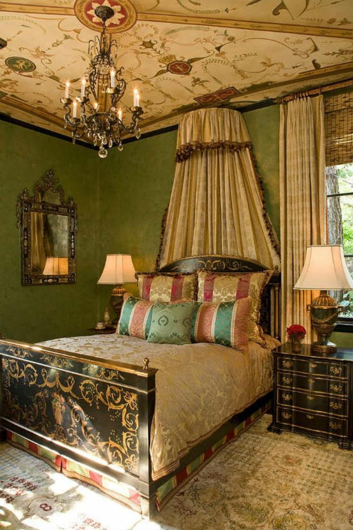 Schlafzimmer Ideen im viktorianischen Stil Vintage Schlafzimmermöbel