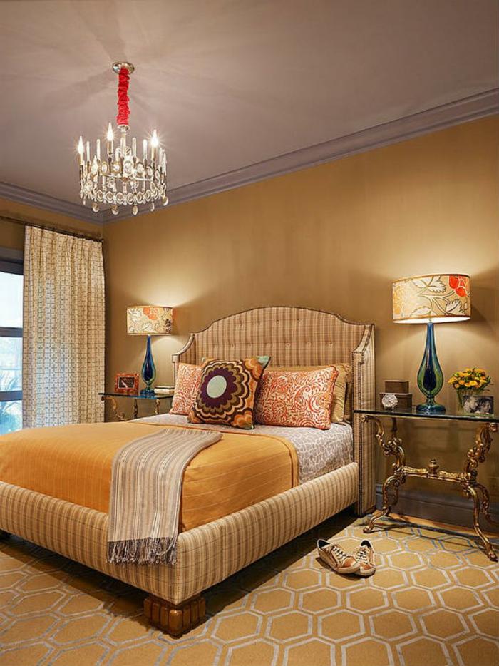 Schlafzimmer Ideen im viktorianischen Stil klassische Schlafzimmermöbel
