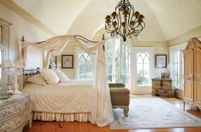 Schlafzimmer Ideen im viktorianischen Stil - 40 Einrichtungsbeispiele
