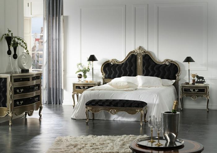 Schlafzimmer einrichten Einrichtungsbeispiele im viktorianischen Stil klassische Möbel