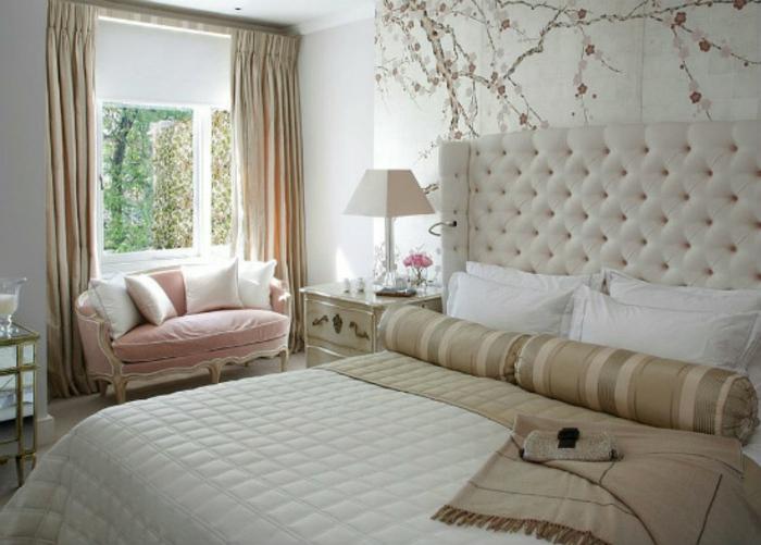 Schlafzimmer einrichten Einrichtungsbeispiele im viktorianischen Stil romantisches Schlafzimmer