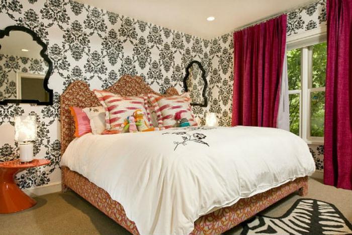 Schlafzimmer einrichten Einrichtungsbeispiele viktorianischer Stil Schlafzimmermöbel