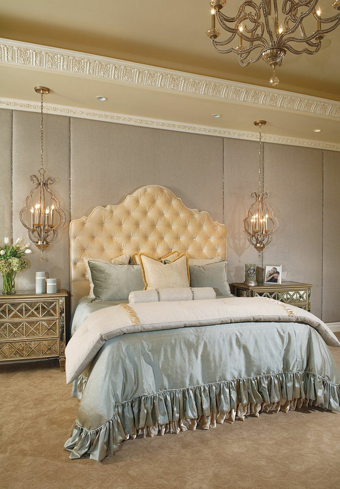 Schlafzimmer einrichten im viktorianischen Stil Einrichtungsideen