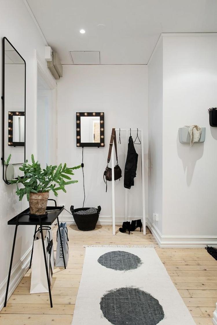Wohnung einrichten Flur gestalten Dielenmöbel praktisch