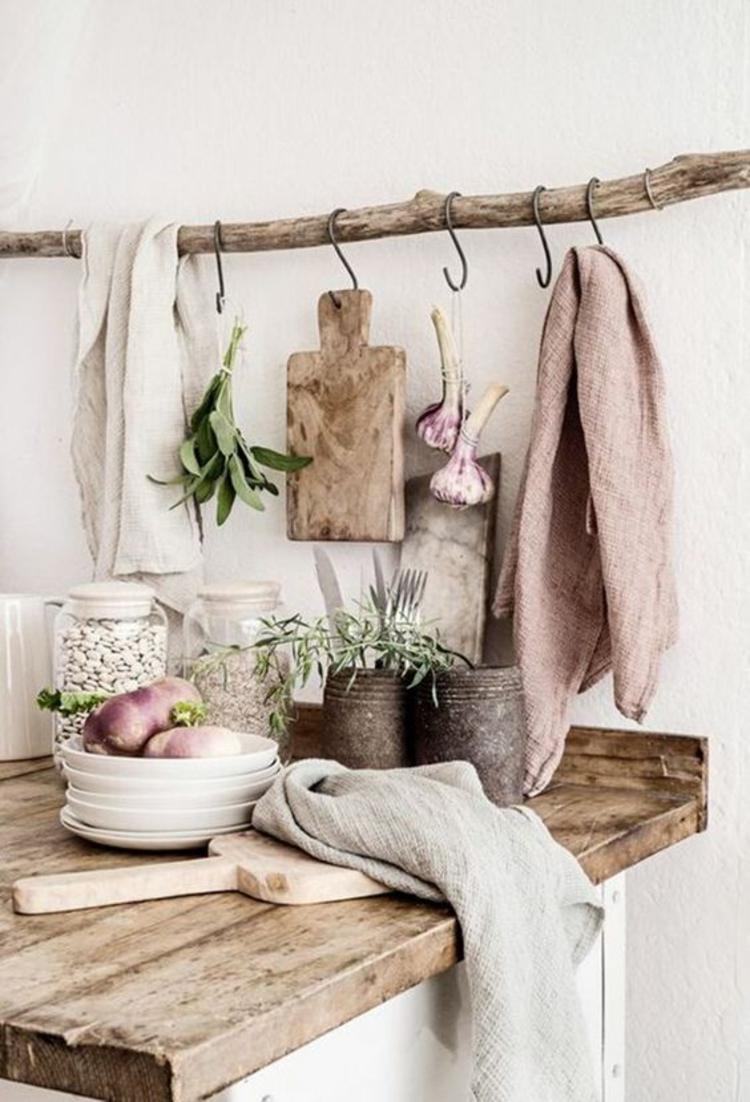 Wohnung Einrichten Tipps Küchenzubehör Aufhängen DIY Ideen
