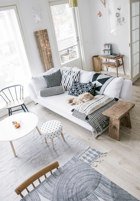 Wohnung einrichten offener Wohnraum Wohnzimmer Möbel