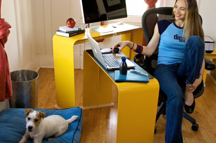 büromöbel ideen coole schreibtische heimbüro