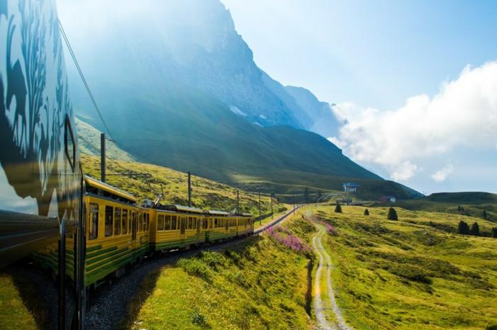 bahnreisen durch europa vorteile gegenüber flugreisen