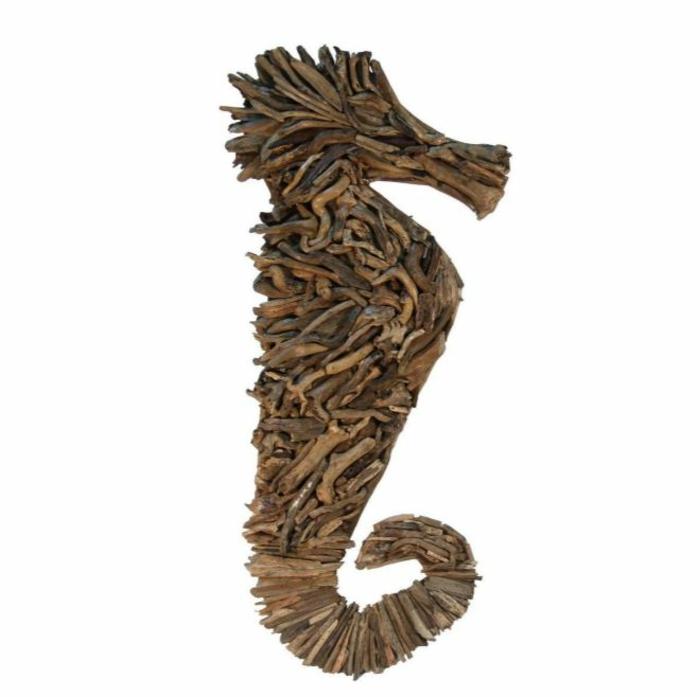 bastelideen wohndeko kreative seepferdchen tribholz3