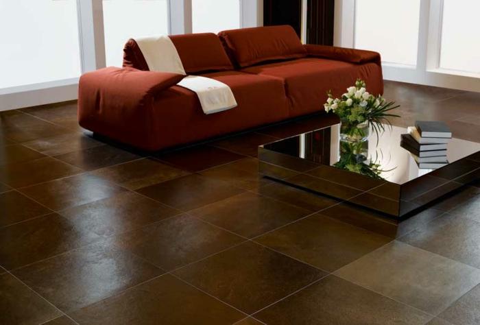 fliesen wohnzimmer idee. Black Bedroom Furniture Sets. Home Design Ideas