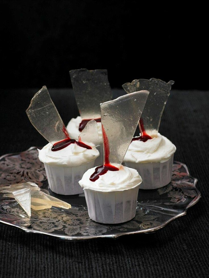 cupcake deco muffins halloween ideen