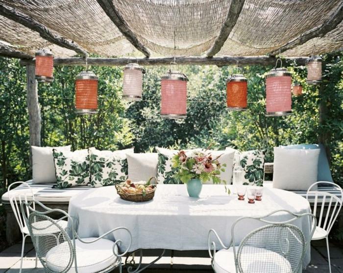 22 deko gartenparty ideen was darf auf einem gartenfest. Black Bedroom Furniture Sets. Home Design Ideas