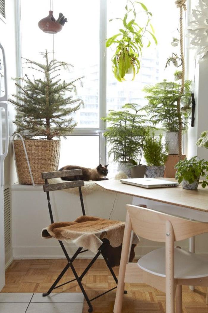 dekoideen fensterbank pflanzen wohnideen klappbare möbel