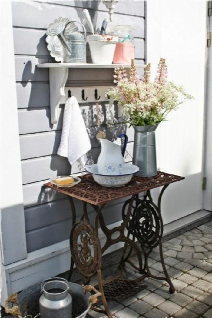 dekoideen wohnzimmer ideen raumgestaltung ideen DIY Ideen Balkon Ideen naehmaschine badezimmer