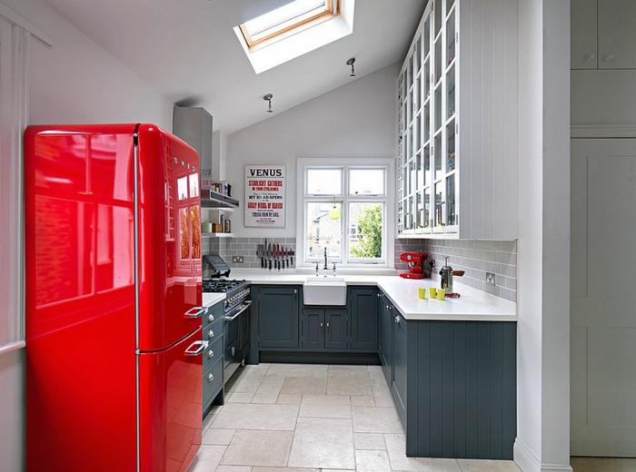 Retrokühlschränke  40 Kühlschränke - Vielfalt an Designs für eine spektakuläre ...