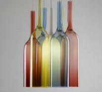 42 Upcycling Ideen für DIY Lampen aus Glasflaschen