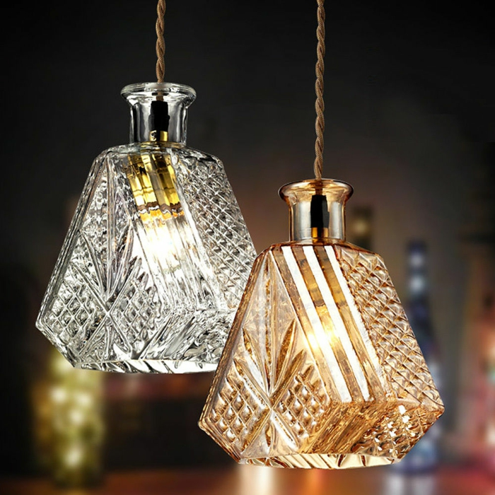 42 upcycling ideen f r diy lampen aus glasflaschen for Designer lampen