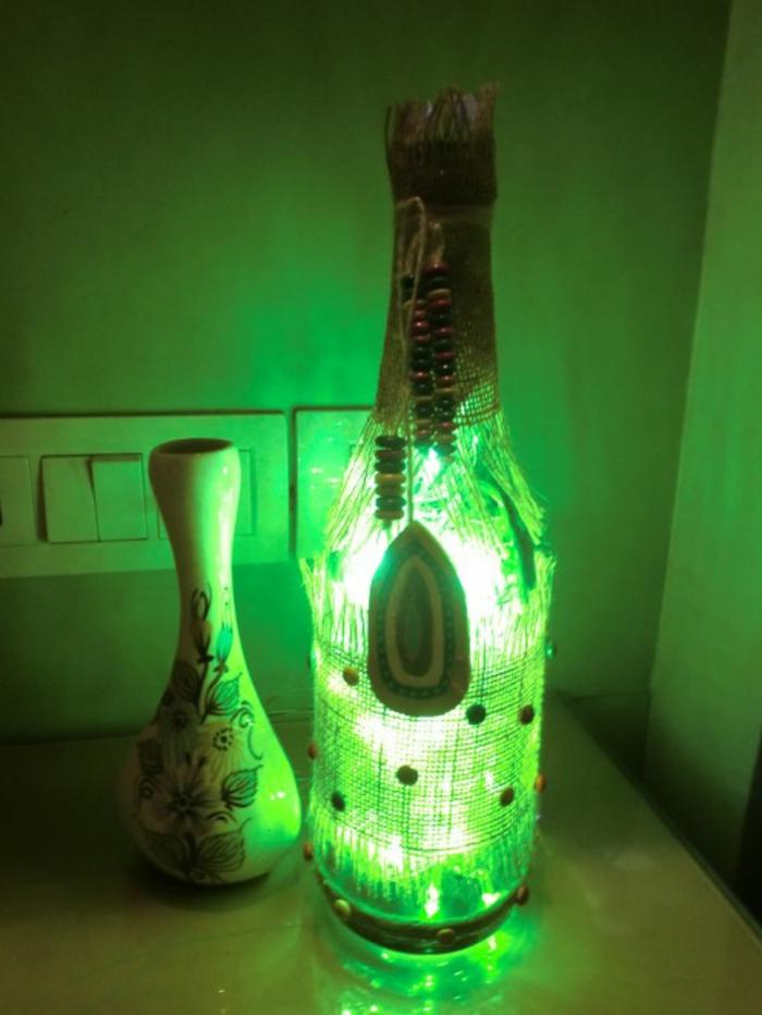 diy lampen und leuchten led lampen orientalische lampen lampe mit bewegungsmelder designer lampen lichterlette-grün