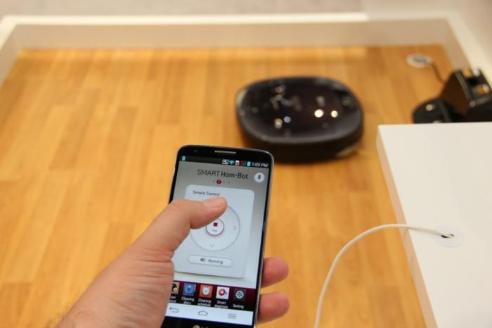 ein bisschen haushalt smart hom bot square lg haushaltsgerät