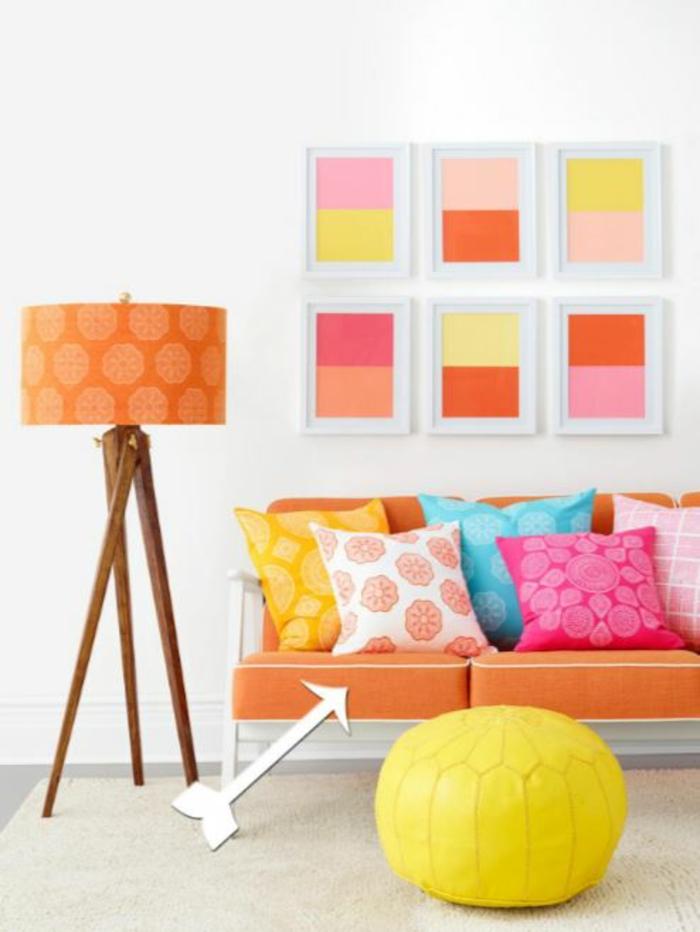 einrichtungsbeispiele wohnideen dekoideen accessoires wandgestaltung farbgestaltung farbkarte