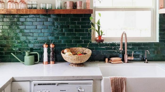 wohnideen dekoideen accessoires wandgestaltung farbgestaltung küche