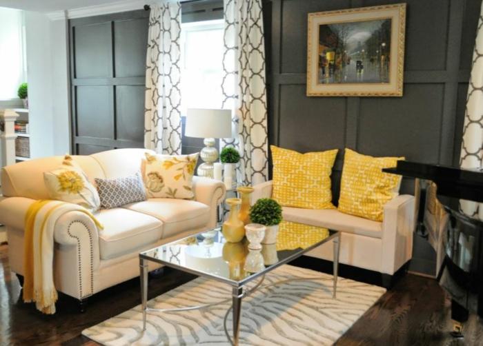 Wohnideen dekoideen accessoires wandgestaltung farbgestaltung klassik 69 einrichtungsbeispiele für wohndeko mit sommerlichem flair