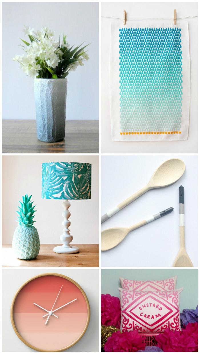 wohnideen dekoideen accessoires wandgestaltung farbgestaltung lecker