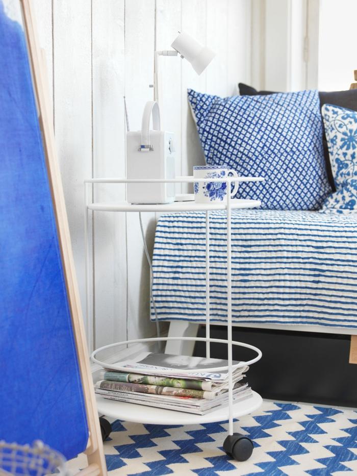 wohnideen dekoideen accessoires wandgestaltung farbgestaltung maritim