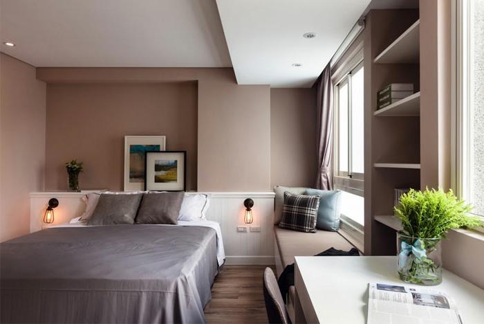einrichtungsideen schlafzimmer kleines schlafzimmer einrichten farbige wände