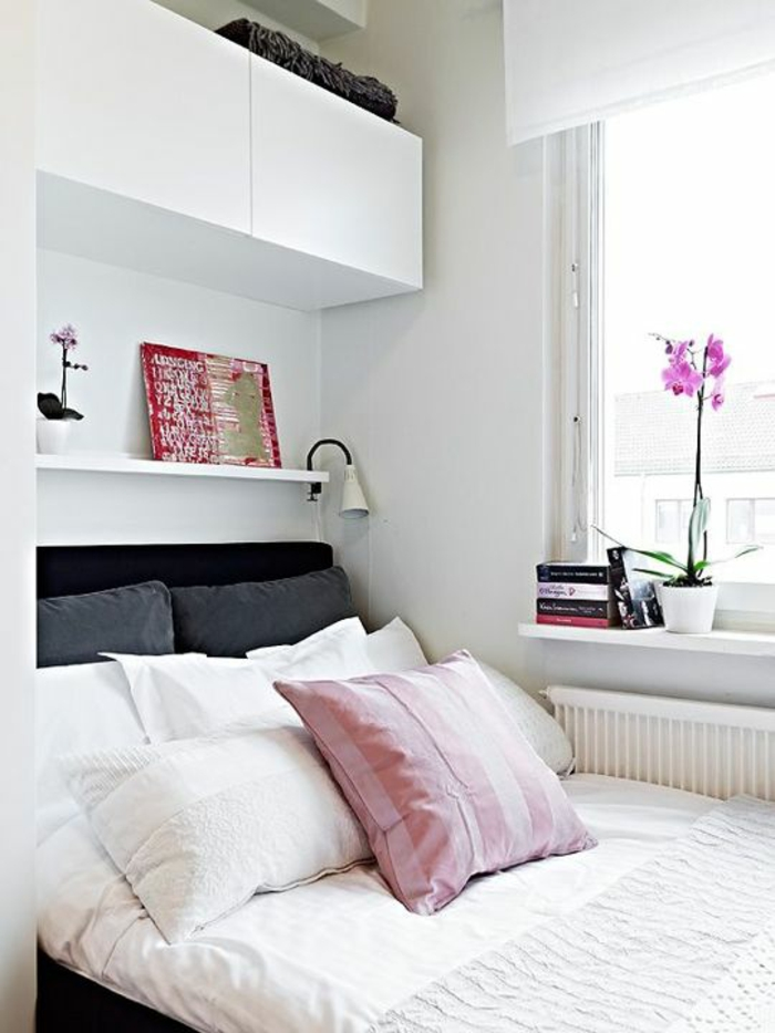 Fensterbank Dekoration   57 Ideen, Wie Sie Das Potenzial Der, Schlafzimmer  Entwurf