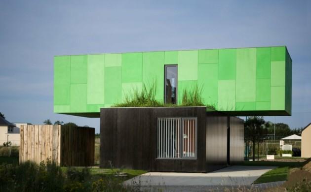 fertighäuser-modern-ausgefallen-grün-moderne-architektur