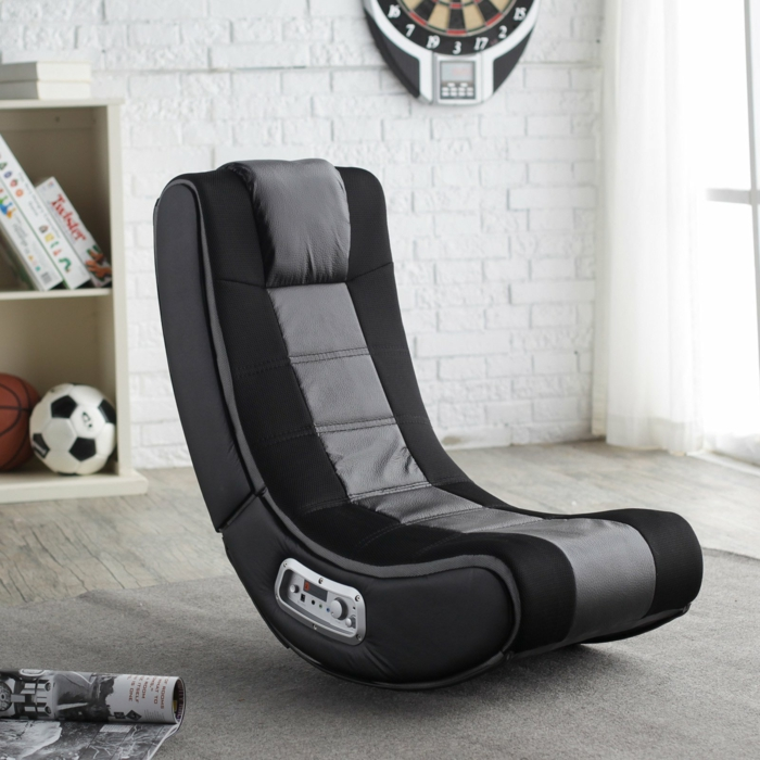 gaming sessel professional chair v rocker se wireless black