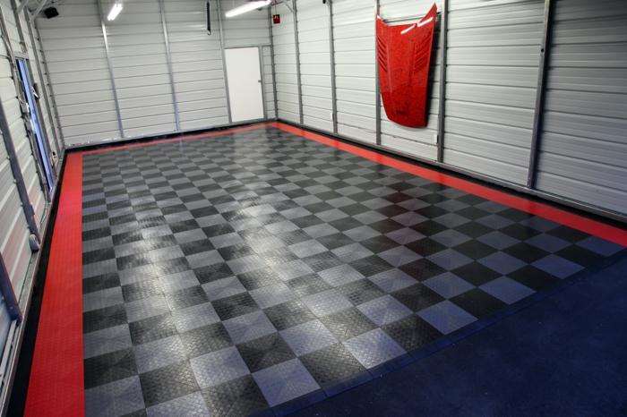 Fußboden Fliesen Garage ~ Anleitung zur auswahl und verlegen von garagenfliesen